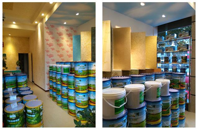 源生态漆室内油漆装修效果